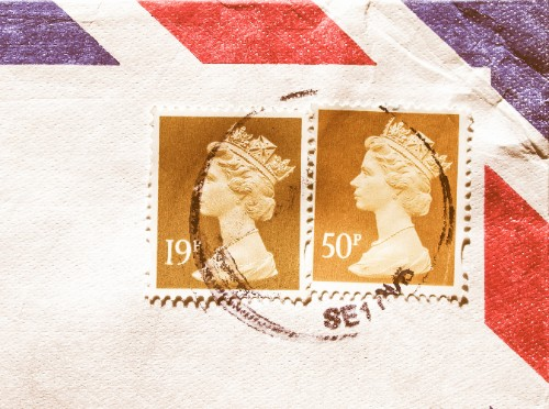 used UK stamps