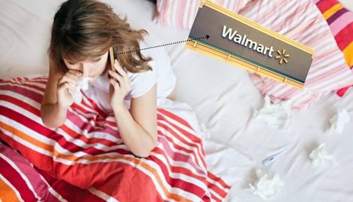 how to call in sick at walmart